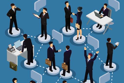 การติดต่อสื่อสารภายในองค์กร